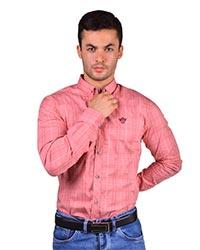 پیراهن مردانه چهارخانه B&L مدل 531