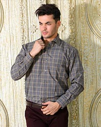 پیراهن مردانه چهارخانه مدل 1617