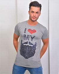 تی شرت مردانه مدل 1153