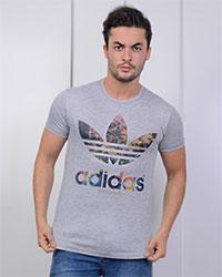 تی شرت مردانه طرح adidas مدل 0873