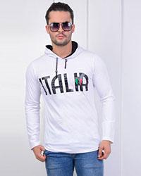 هودی مردانه پاییزه طرح ITALIA مدل 0562