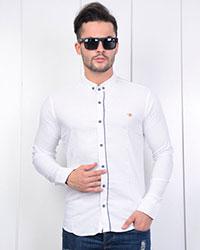 پیراهن مردانه چهارخانه خطی مدل0389