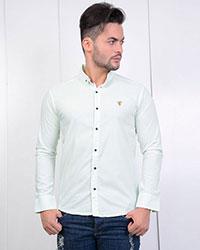 پیراهن مردانه طرح دار مدل 0395