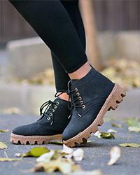 کفش نیم بوت دخترانه مدل 0217