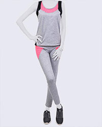 تاپ و شلوار زنانه ورزشی مدل 1055