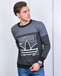 تی شرت پاییزه طرح adidas مدل 1296