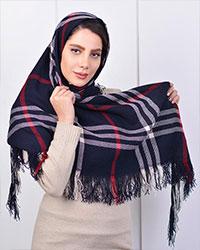 روسری پاییزه طرح Burberry مدل 0171