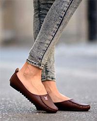 کفش زنانه طرح LV مدل 1008