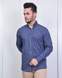 پیراهن مردانه چهارخانه مدل 0946