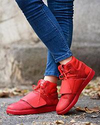 نیم بوت دخترانه طرح adidas مدل0998