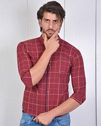 پیراهن مردانه چهارخانه مدل 0871