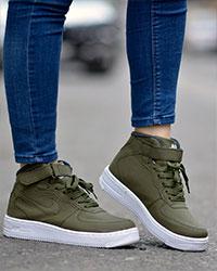 نیم بوت دخترانه Nike Force مدل 0335