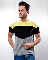 تی شرت مردانه سه رنگ مدل 0738