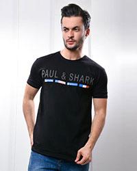 تی شرت مردانه یقه گرد طرح پرچم مدل 0720