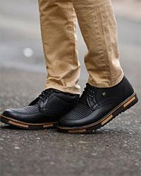 کفش مردانه نیم بوت مدل 0703