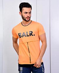 تی شرت مردانه زیپ دار مدل 3498