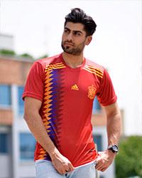 تیشرت جام جهانی تیم ملی اسپانیا مدل 5588