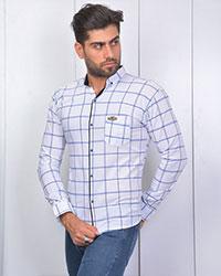 پیراهن مردانه چهارخانه درشت مدل 3389