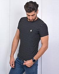 تی شرت مردانه آستین کوتاه مدل 3384