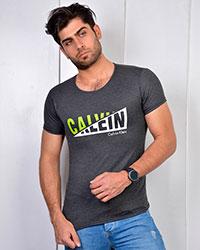 تی شرت مردانه ملانژ CALVIN KLEIN مدل 3260