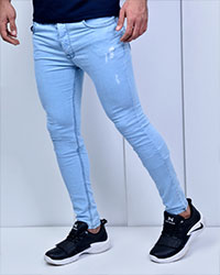 شلوار جین زاپ دار مدل 3158