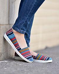 کفش دخترانه گلیمی مدل 3092