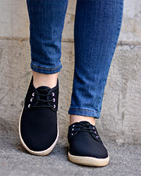 کفش دخترانهبندی مدل 3095