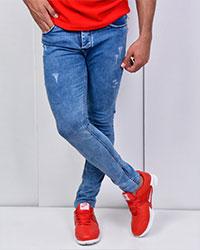 شلوار جین زاپ دار مدل 3102