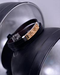 دستبند چرمی مردانه مدل 3060