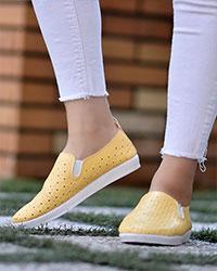 کفش ونس رویه مشبک زنانه مدل 3018