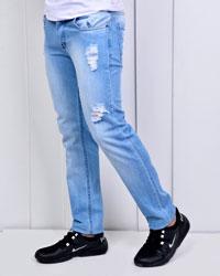 شلوار جین زاپ دار مدل 2919