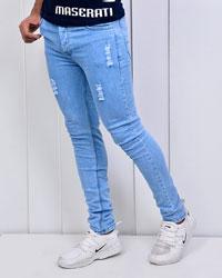 شلوار جین زاپ دار مدل 2916