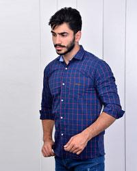 پیراهن مردانه چهارخانه مدل 2878