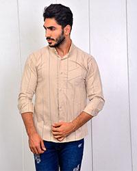پیراهن مردانه راه راه مدل 2784