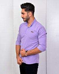 پیراهن مردانه طرح مکعبی مدل 2728