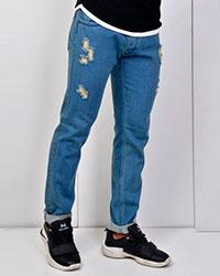 شلوار جین زاپ دار مدل 2722