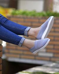 کفش بافت دخترانه مدل 2686