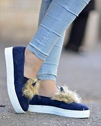 کفش خرگوشی دخترانه مدل 2457