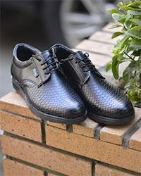 کفش مردانه پوست ماری مدل 2408
