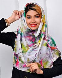 روسری ساتن گلدارمدل 2281