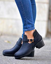 کفش نیم بوت دخترانه مدل 2189