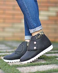 کفش نیم بوت دخترانه مدل 2194