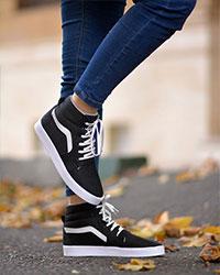 کفش نیم بوت دخترانه مدل 2153