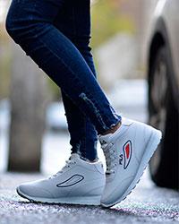 کفش دخترانه ساقدار مدل 2043