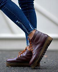 کفش ساقدار دخترانه مدل 2029