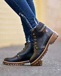 کفش نیم بوت دخترانه مدل 1849