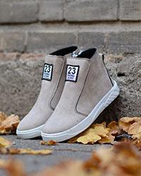 کفش نیم بوت دخترانه مدل 3545
