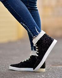 کفش دخترانه نیم بوت توپی مدل 1810