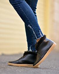 کفش ساق دار دخترانه مدل 1813