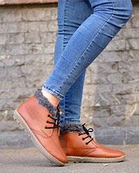 کفش نیم بوت دخترانه مدل 1806